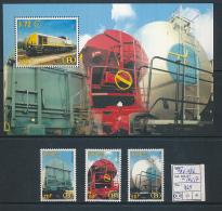 BELGIQUE 1939 ISSUE COB TRV14/16 + TRV17 MNH - Ferrovie
