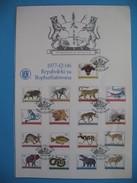 Bophuthatswana  Bloc Complet 1977   Oblitéré  ( De 2c  à R2 ) - Bophuthatswana
