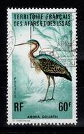 Afars Et Issas - YV 412 Oblitere, Oiseau Ardea Goliath Cote 4 Euros - Afars Et Issas (1967-1977)