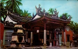 ! Ansichtskarte Penang Malaysia, Snake Temple, Sungei Kluang - Malaysia