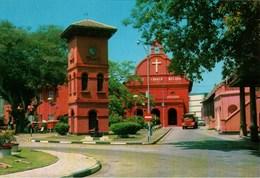 ! Ansichtskarte Malaysia, Malacca, Christ Church - Malaysia