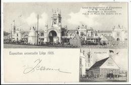 LIEGE Exposition Universelle 1905 - Local Dégustation Et D'exposition H. W. SCHLICHTE Steinhagen En Westphalia - Luik