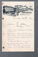 Aix Les Bains (73 Savoie) Lettre à Entête HOTEL DE RUSSIE ET DES COLONIES  (PPP9126) - Sport & Turismo