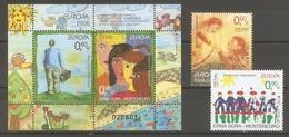 2006 Montenegro .  Europa CEPT.   Set / Block ** - Europa-CEPT