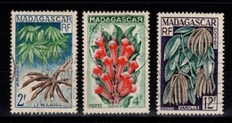 Madagascar - YV 332 à 334 Complete Oblitere , Produits Agricoles - Madagascar (1889-1960)