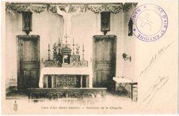 CPA NANCY - Cure D'Air Saint Antoine - Intérieur De La Chapelle - 11/07/1902 - Nancy