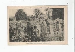 CACONDA (ANGOLA) LECON PRATIQUE AU JARDIN POTAGER (BELLE ANIMATION) - Angola