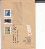 Liechtenstein - Lettre Recom De 1954 ° - Oblit Vaduz - Peinture - Valeur 90 Euros - Liechtenstein