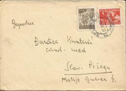 YUGOSLAVIA LETTER, Circulated - 1945-1992 Sozialistische Föderative Republik Jugoslawien