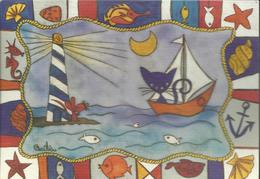 Carte Illustrée Par Cécilia Ambroggio - Künstlerkarten