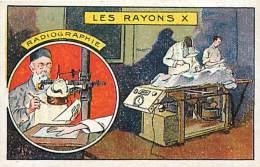 Image Chromo  , Scan Recto Verso , Radiographie , * 223 76 - Salute