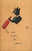 Chat Signée RENE , * 225 19 - Cats