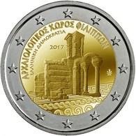 """GRECIA 2€ BIMETÁLICA  2.017  2017  """"Archeological Site Of Philippigre-fili""""  SC/UNC  T-DL-12,222 - Grecia"""