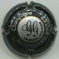 CAPSULE-CHAMPAGNE GIMONNET-GONET N°10 Noir & Argent - Other