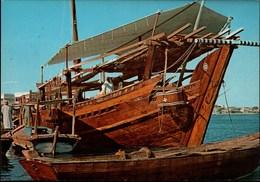 ! Ansichtskarte Dubai, Dhow, Ship, Trucial States, VAE - United Arab Emirates