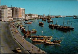 ! Ansichtskarte Dubai, Waterfront, Trucial States, VAE - Emirats Arabes Unis