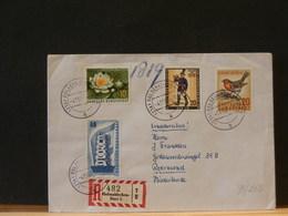 78/262 LETTRE ALLEMAGNE 1956 - [7] Federal Republic