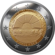 "CHIPRE 2€ BIMETÁLICA  2.017  2017  ""Pafos Capital Europea Cultura""  SC/UNC  T-DL-12.223 - Cyprus"