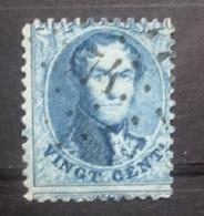 BELGIE  1863   Nr.15  Tand. 12 1/2   PT 74 Celles     Coba 25 - 1863-1864 Medaillen (13/16)