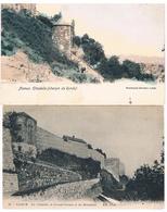 Lot De 2 CPA : NAMUR Citadelle Chemin De Ronde (tour César) + Le Grand Chemin Et Remparts - Namur