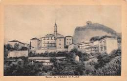 """0231 """"(CN) SALUTI DA VEZZA D'ALBA""""  PAESAGGIO. CART  NON SPED - Cuneo"""