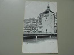 SUISSE GE GENEVE TOUR DE L'ILE  PRECURSEUR - GE Geneva