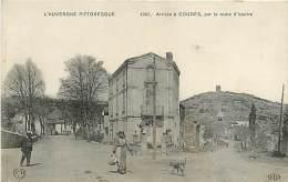 63 , COUDES , Arrivée Par La Route D'Issoire , * 232 77 - Francia