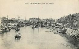 CHINE , SHANGHAI , Sur Les Quais ,  234 64 - Chine