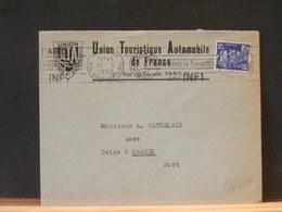 78/277  LETTRE  FRANCE - Autos