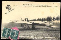 Dijon Aviation 22/25 Septembre 1910:  Mme Marthe Niel Et Cachet De La Manifestation Au Verso - Meetings