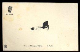 Dijon Aviation 22/25 Septembre 1910:  Simon Sur Monoplan Blériot Et Cachet De La Manifestation Au Verso - Meetings
