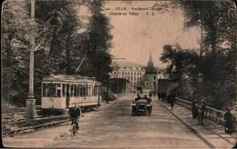 ! 59, Alte Ansichtskarte Lille, Straßenbahn, Tram - Tramways
