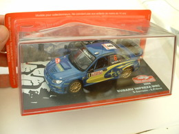 SUBARU IMPREZA WRC - RALLYE DE MONTE CARLO 2006 - SARRAZIN / PREVOT - ALTAYA IXO - 1/43éme - Ixo