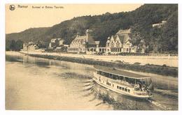CPA : NAMUR Le  Kursaal ( Casino ) Et Un Bateau Touriste - Namur