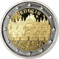 """ITALIA 2€ BIMETÁLICA  2.017  2017  """"Basílica De San Marco VENEZIA""""  SC/UNC  T-DL-12.227 - Italie"""