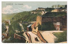 CPA Colorisée  : NAMUR Citadelle Route Merveilleuse Avec Attelage - Namur