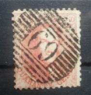 BELGIE  1863   Nr. 16   Tand 12 1/2    P 69  Overpelt  Coba 40 - 1863-1864 Medallions (13/16)