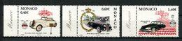 MONACO 2002 N° 2369/2371 ** Neufs MNH Superbes C 7.70 € Automobiles Mercedes Rolls DS 21 Collection Prince Cars - Monaco