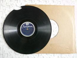 Vinyle 3x LP 78 Joséphine Baker & Louis Armstrong Beaux états Benny Goodman Cassé.....! - 78 T - Grammofoonplaten