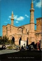 ! Ansichtskarte Nicosia, VW Käfer, Mosque, Church, Cyprus, Zypern - Zypern