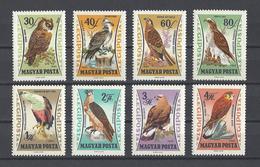 HONGRIE. YT PA 25/257 Neuf **  Oiseaux De Proie  1962 - Poste Aérienne