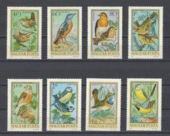 HONGRIE. YT PA  360/367  Neuf **  Oiseaux  1973 - Poste Aérienne