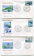 RC 9708 HAUTE VOLTA JEUX OLYMPIQUES DE GRENOBLE 1968 1er JOUR FDC TB - Obervolta (1958-1984)