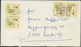 DDR 1982 Michel 2691 X4 Auf Briefumschlag Von Stassfurt Nach Neuss; Giftpflanzen - DDR