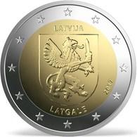 "LETONIA 2€ BIMETÁLICA  2.017  2017  ""LATGALE""  SC/UNC  T-DL-12.231 - Letonia"