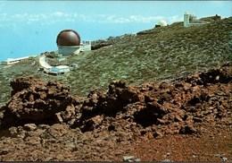 ! Ansichtskarte La Palma, Canarias, Obervatorio Astrofisico, Astronomie - Astronomia