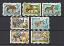 HONGRIE. YT PA  436/442  Neuf **  Animaux Sauvages  1981 - Poste Aérienne