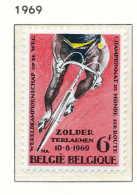 D- [150674] **/Mnh-[1498] Belgique 1969, Sport, Cyclisme, Championnat Du Monde à Zolder, SNC - Cyclisme