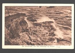 Grave - De Doorbraak Van Den Maasdijk Bij Grave - Watersnood 1925-1926 - Pays-Bas