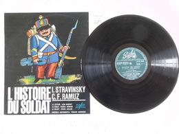 Vinyle LP Histoire Du Soldat Ramuz Stravinsky Marchat Herrand Auclair Oubradous Elysées - Classical